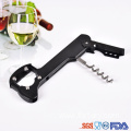 Multifunctional party red wine wooden bottle opener