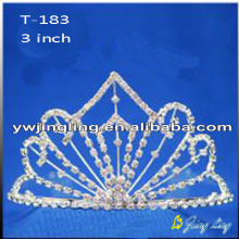 Bridal Hair Accessories Pageant Crown Tiara