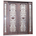 Modern Style Wrought Iron Security Front Doors