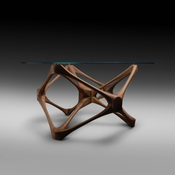 Modern Design Wooden fiber tea table
