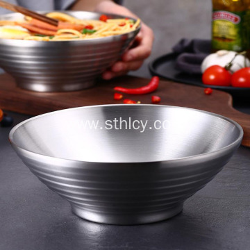 304 Stainless Steel Japanese Ramen Bowl