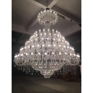 Customized Made Magnificent Fancy Hotel Crystal Chandelier