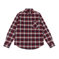 Autumn Winter Style Men's 100% Cotton Woven Shirts