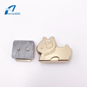 Zinc Alloy Pearl Handbag Lock  Hardware Accessories