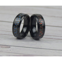 carbon fiber gold or black color ring