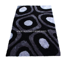 1200D Silk Shaggy Rug