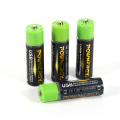 Recycle 1.5v AA Battery USB