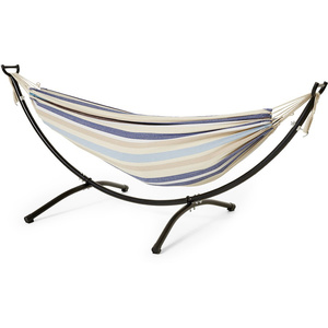 Cotton Double Hammock with Frame