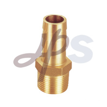 Brass straight garden hose fitting