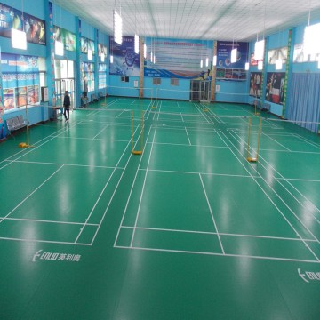 Enlio PVC floor for Badminton court