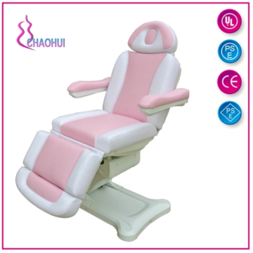 Electric Massage Bed pink and white