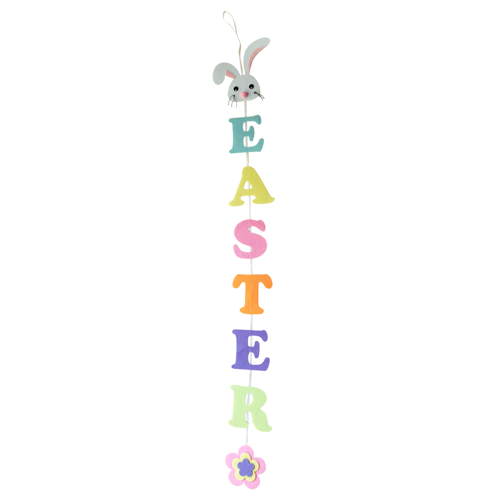 Easter Party Bunting Banner