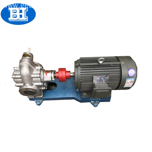 food grade gear stainless steel palm oil pump