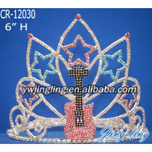 Pageant Crown guitar star shape CR-12030