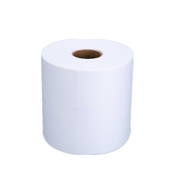 Industrial Spunlace Biodegradable Dry Cleaning Wipes Roll