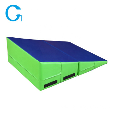 Pvc Sponge Gym Exercise Folding Incline Wedge Mat