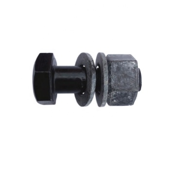 Plain Finish Grade A325 Hex Structural Bolts
