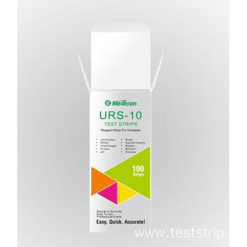 Urine reagent strips 10 parameter urine test strips
