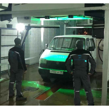 Touchless brushless car wash