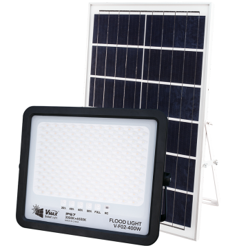Wireless installation safety solar flood light