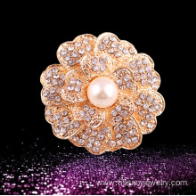 Jingling high quality round flower pins for sale