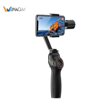 Black 3 axis electronic stabilizing gimbal