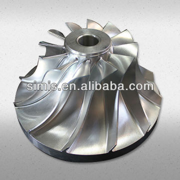 Turbine wheel/compressor wheel investment casting