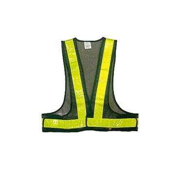 New high visibility work safety construction warning vest