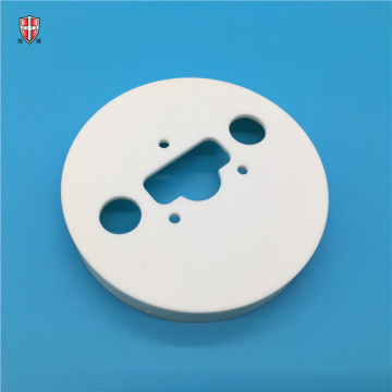 insulating sitall macor machinable ceramic disc plate cap