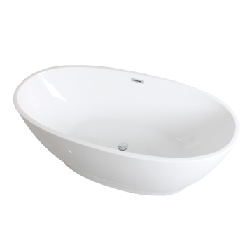 New Oval Acrylic Soaking Bathtubs