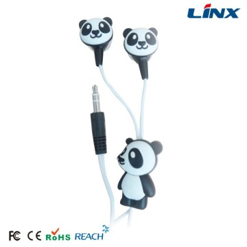 Hot Sales Earbuds Dengan Case dan Panda Headphone
