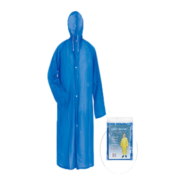 Cheapest Promotional Waterproof Reusable PVC Raincoat