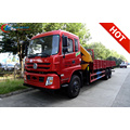 Dongfeng 10wheels 12T Articulated Truck Mounted Crane