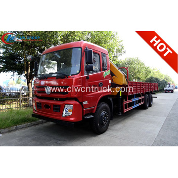 2019 Dongfeng 10wheels 12T Articulated Truck Mounted Crane