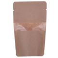 Kraft Bags Stand Up Pouch with Zipper