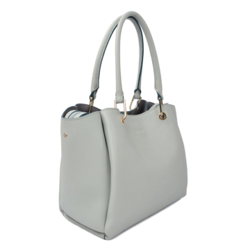 Casual leather tote bag is super durable