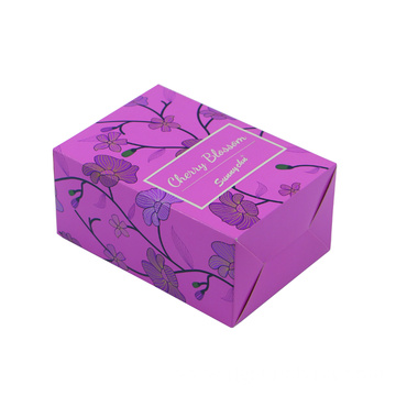 Purple beautiful paper color boxes