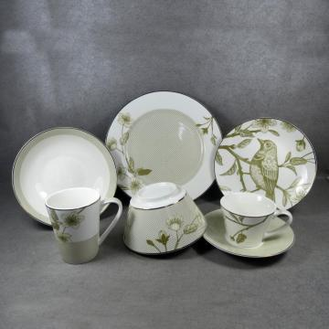 Porcelain Tableware Ceramics Set