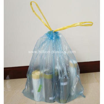 Plastic Drawstring Trash Bag