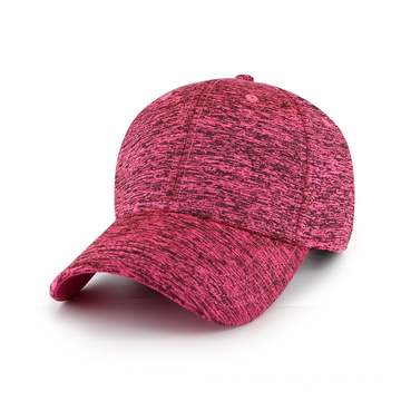 Heather jersey fabric blank hat
