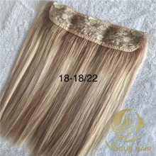 Balayage one piece clip in hair extensions
