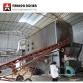 Wood Chips Thermal Fluid Boiler for Hot Press