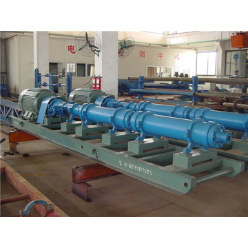Horizontal single screw rotor pump