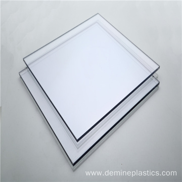 Solid polycarbonate sheet clear plastic sheet 4mm