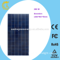 300W Monocrystalline see through Solar Panels