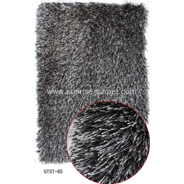 Elastic and Polyester Silk Shaggy Rugs