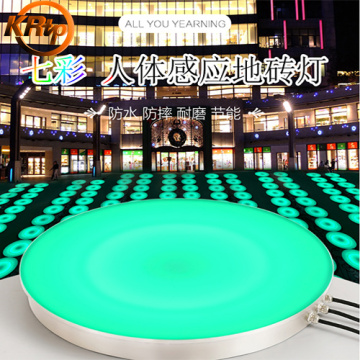 LED Luminous Jumping Springboard Lights
