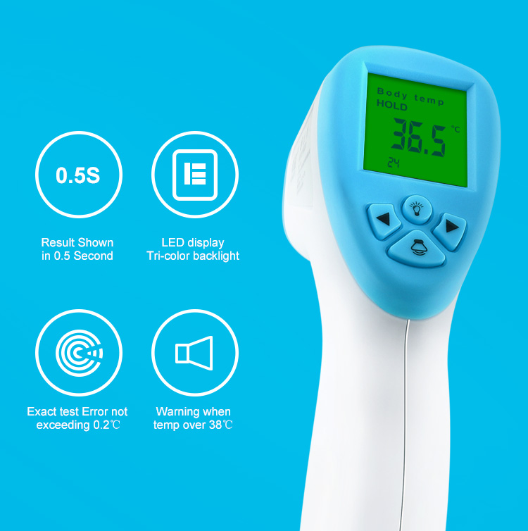 Fever Ear Forehead Thermometer