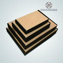 OEM brown kraft corrugated colorful mailer box