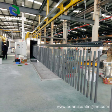 High efficiency customized flat automatic electrostatic powder coating line